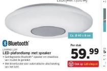 livarno lux led plafondlamp met speaker