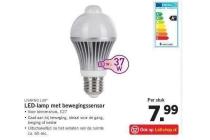 livarno lux led lamp met bewegingssensor