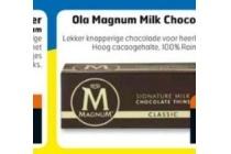 magnum milk chocolade