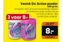vanish oxi action poeder