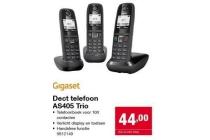 dect telefoon as405 trio