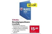 beveiligingssoftware livesafe