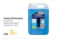 carplus ruitenspray