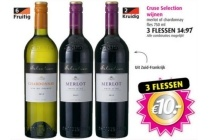 cruse selection wijnen