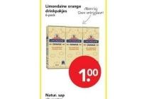 limondaine drinkpakjes