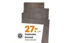 vinylstroken harwood