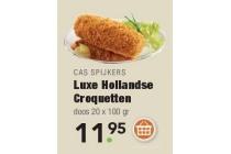 cas spijkers luxe hollandse croquetten