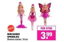 mini barbie sprookjes