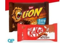 smarties bros kitkat of lion