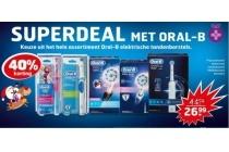 superdeal met oral b