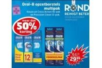 oral b opzetborstels multipak