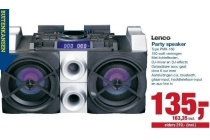 lenco party speaker