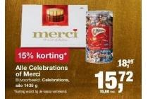 alle celebrations of merci