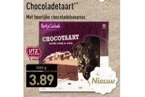 partygebak chocoladetaart