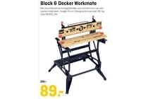 black en decker workmate