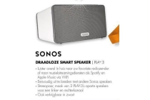 sonos draadloze smart speaker play 3