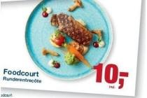 foodcourt runderentrecote