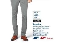 pantalon tailor en son