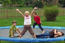 korting trampoline hema