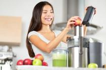 bigstock Juicing  woman making apple a 59090792