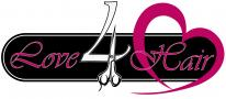 logo Kapsalon Love 4 Hair