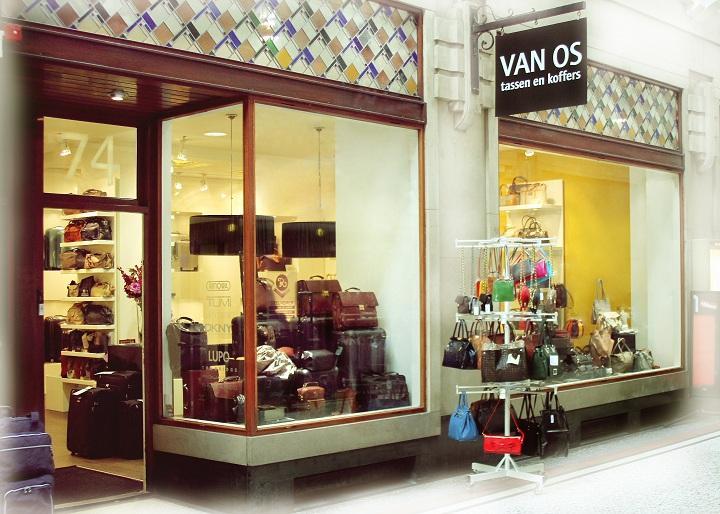Openingstijden Van Os tassen en koffers Passage 74 in Den Haag