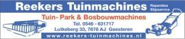 logo Reekers Tuinmachines