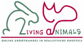 logo LivingAnimals, groothandel pluche knuffels