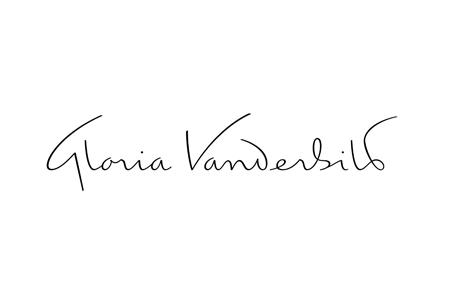 Gloria vanderbilt logo