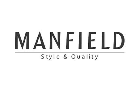 Manfield huismerk logo