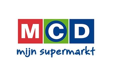 MCD huismerk logo