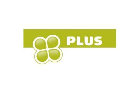 PLUS huismerk logo