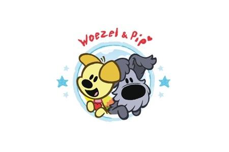 Woezel & Pip logo