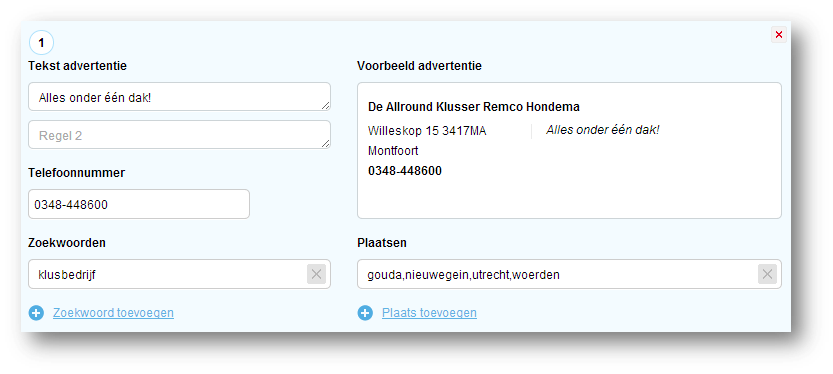 voorbeeld-advertentie-instellen