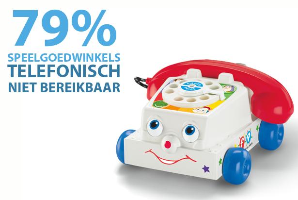 Bereikbaarheid speelgoedwinkels tijdens decemberdrukte