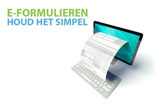 E-formulieren: houd het simpel
