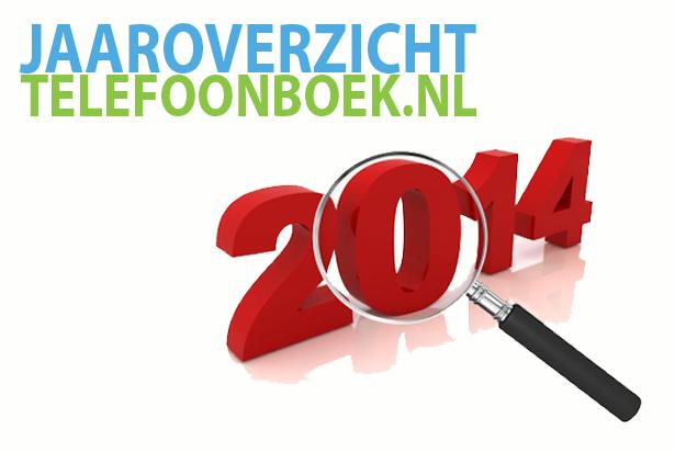 Jaaroverzicht: Telefoonboek.nl in 2014