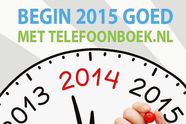 Optimaal het nieuwe jaar in met Telefoonboek.nl