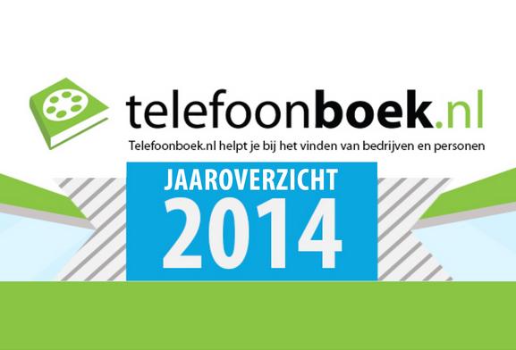 Infographic: Telefoonboek.nl in 2014
