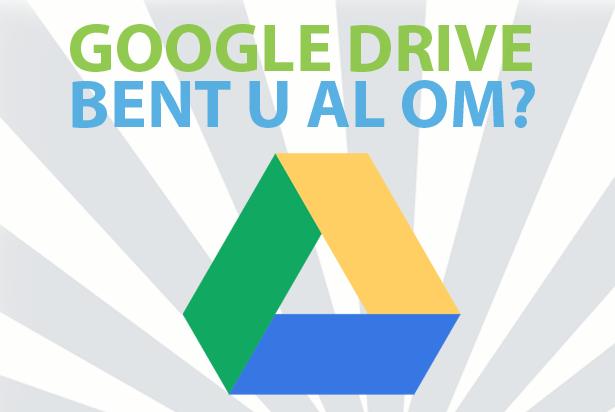 Google Drive: handige toepassingen voor ondernemers