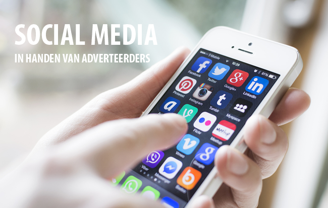 Social media in handen van adverteerders