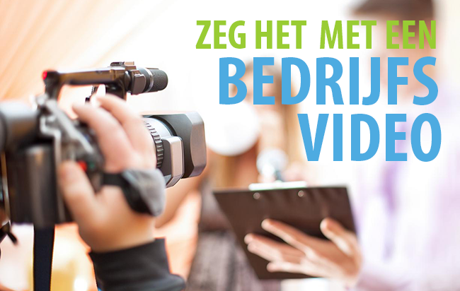 Promoot uw onderneming met een bedrijfsvideo