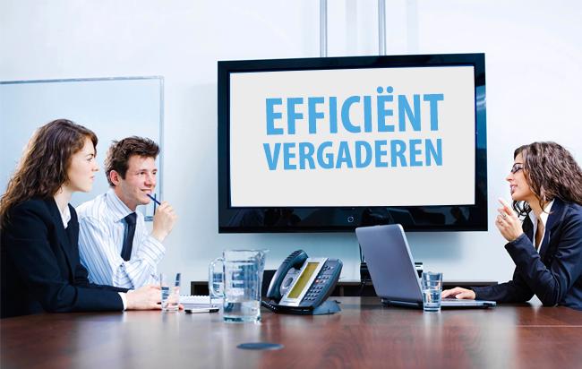 5 tips voor een efficiente vergadering