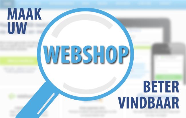 Maak uw webshop beter vindbaar