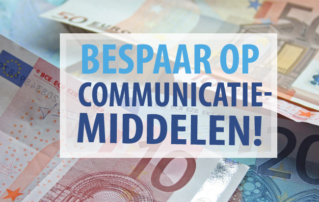 Places.nl tips: Besparen op communicatiemiddelen