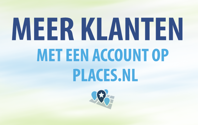 Bereik meer klanten met een account op Places.nl