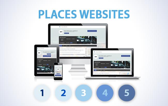 Places Websites voor ondernemers is vanaf nu online!