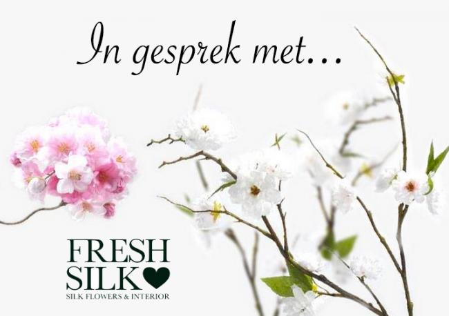 In gesprek met... Freshsilk - Kunstbloemen & Interieur