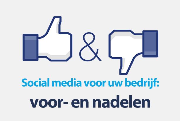 De voor- en nadelen van social media voor bedrijven