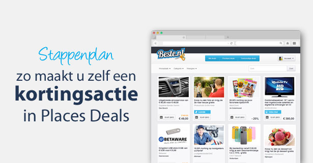 Maak in vier stappen een deal aan op Beste.nl